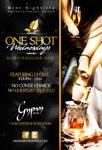 one shot wednesdays flyer
