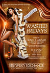 Chocolate Wasted Fridays flyer