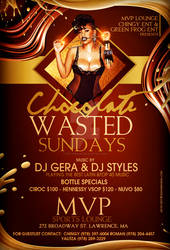 Chocolate Wasted Sun Flyer