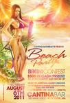 Beach Party Bikini Flyer