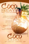 Coco Fridays Flyer