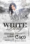 White Party Coco flyer