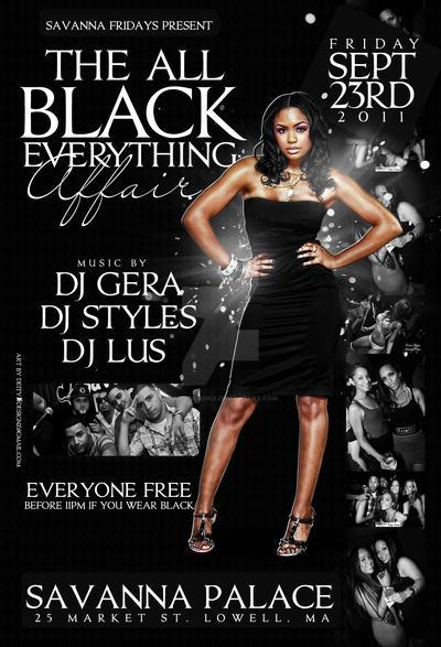 all black affair flyer by deitydesignz on deviantart