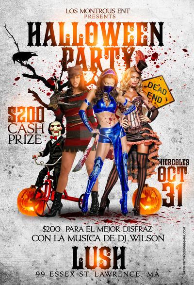Pre Halloween Party flyer by DeityDesignz on DeviantArt – Halloween Party Flyer