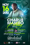 Charlie mambo birthday flyer