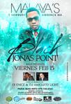 Black Jonas Point live flyer