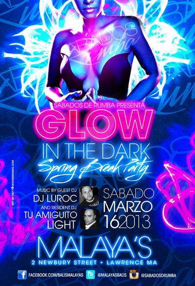 glow in the dark party flyer - anuvrat.info