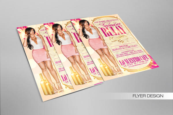 Sabados Rulay generic flyer by DeityDesignz