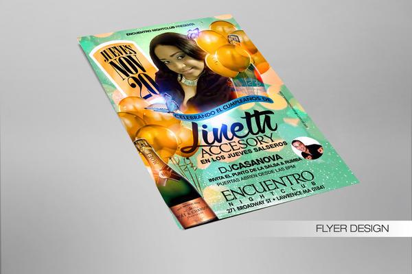 Lineth Accesory Birthday Flyer by DeityDesignz