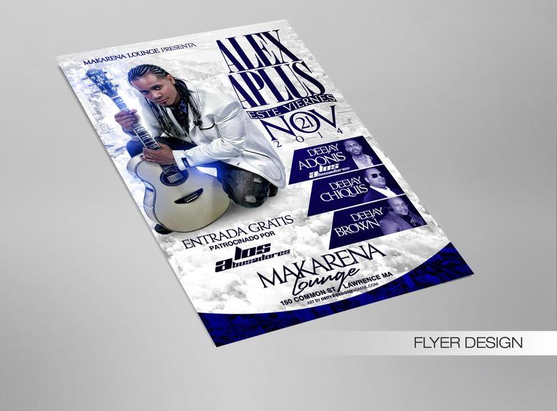 Alex Aplus Performance Flyer by DeityDesignz