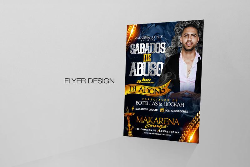 Sabados De Abuso Flyer design by DeityDesignz