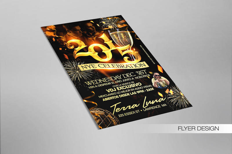 NYE 2015 Celebration Flyer by DeityDesignz