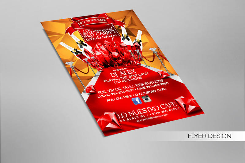 Diamond Red Carpet Flyer by DeityDesignz