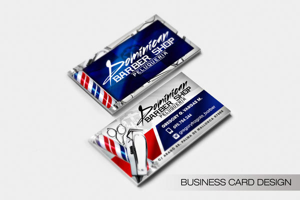 Dominican Barbershop Peluqueria Business Card by DeityDesignz on ...