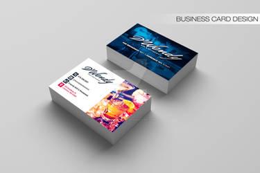 DWendy Bar and Restaurant Business Card