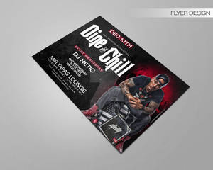 Dine and Chill Dj Hetic Flyer