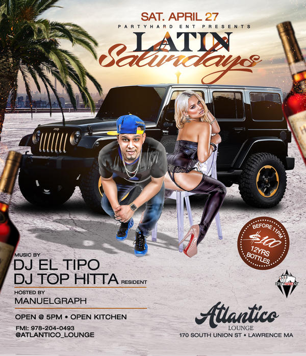 Latin Saturdays by DeityDesignz