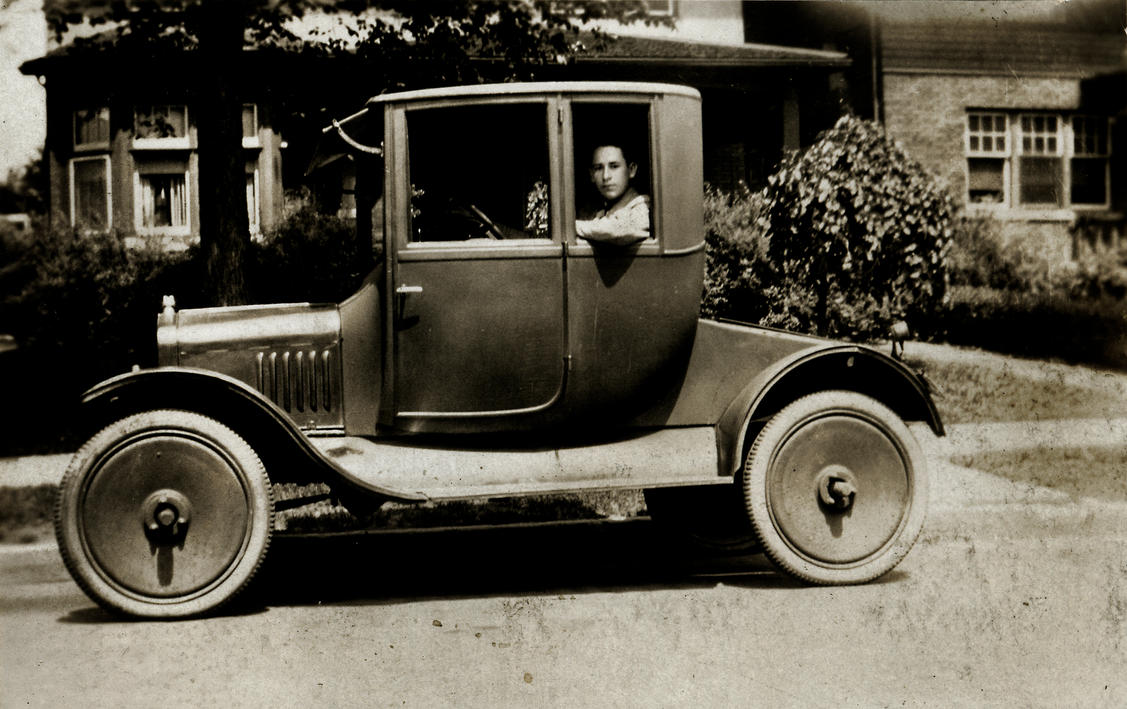 Grandpa's first car,Model T coupe,Artillery Wheels by NeighborJohn