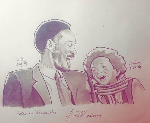 will smith and jaden smith by hefro50