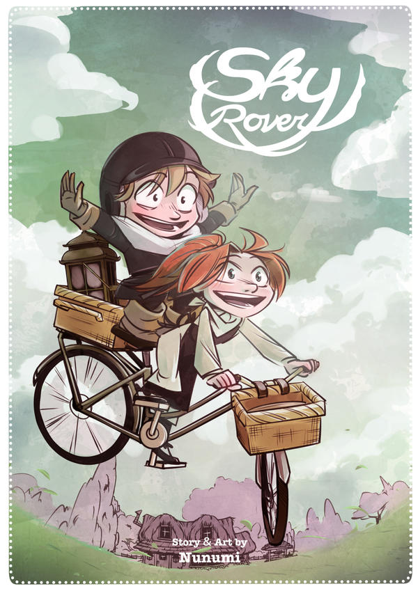 Sky Rover webcomic cover page by Nunumii