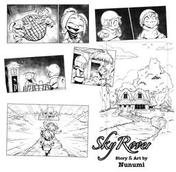 Sky Rover sneak peek by Nunumii