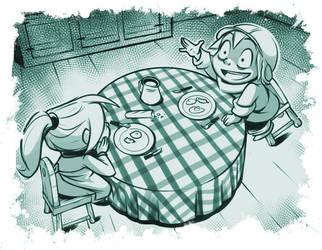 Happy times : page 19 by Nunumii