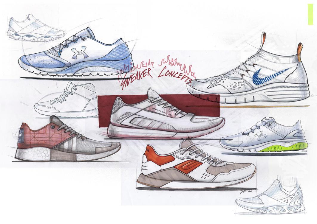 Sneaker concepts by ILYASZAKKY