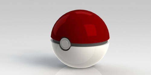 Pokeball - Render Test by tonimich