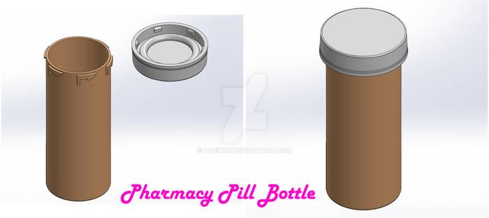 Pharmacy Pill Bottle