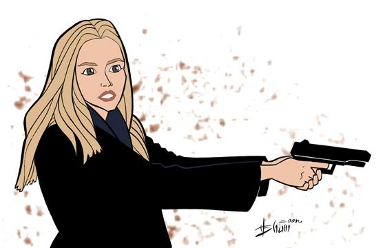 Olivia Dunham - 'Fringe' by howardshum