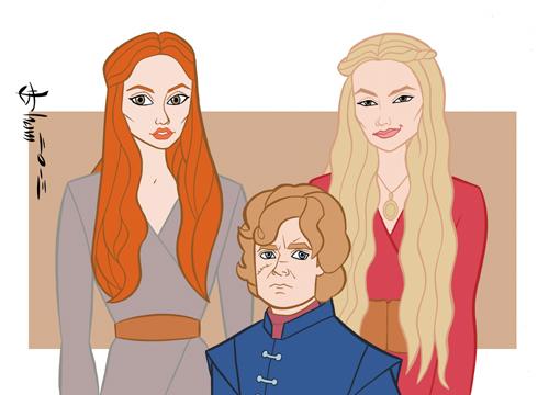 Game of Thrones - King's Landing by howardshum