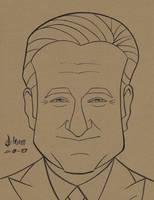 Robin Williams by howardshum