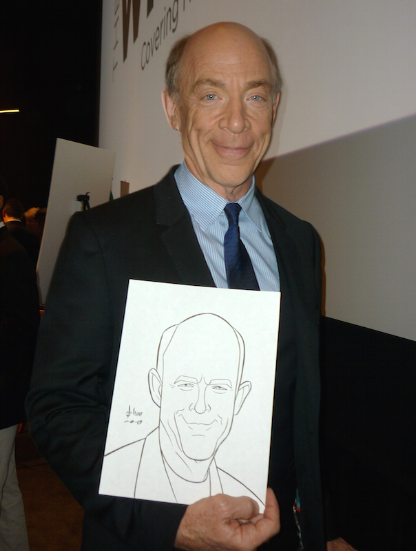 JK Simmons by howardshum