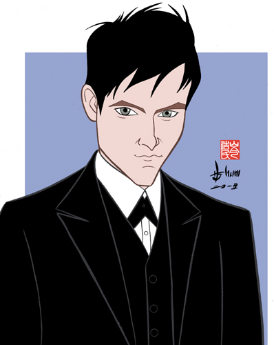 Robin Lord Taylor - Gotham by howardshum