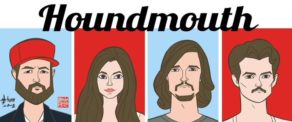 Houndmouth by howardshum