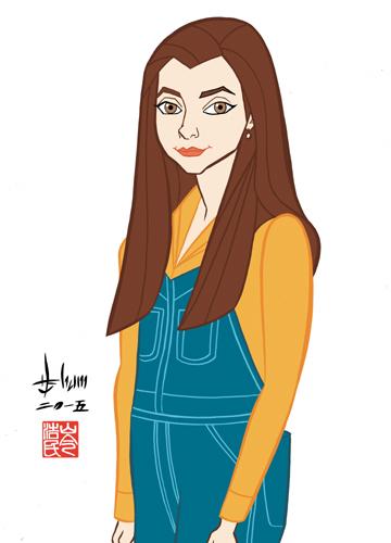 Alyson Hannigan - Willow by howardshum