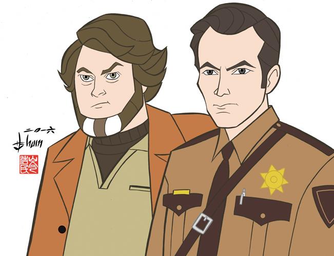 Nick Offerman and Patrick Wilson - Fargo by howardshum