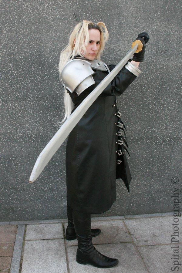 Sephiroth Photoshoot 3 by Sephirayne