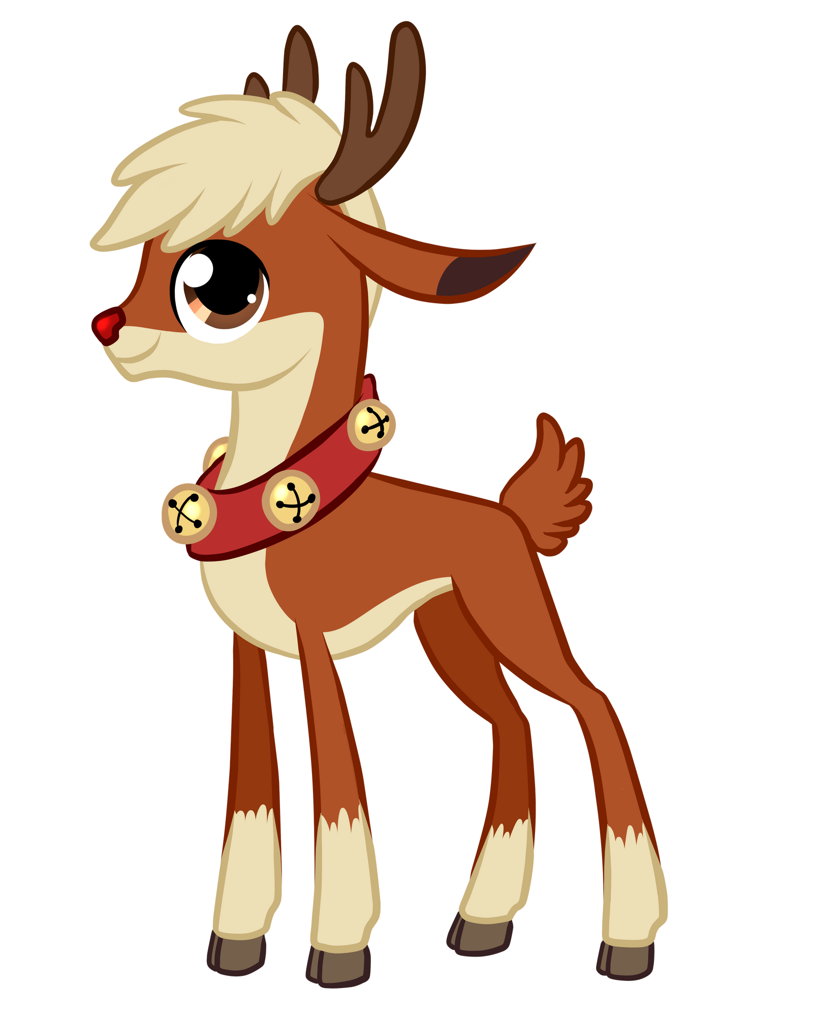 Image Result For Free Rudolph Coloring