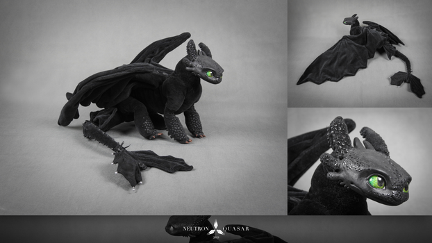 TOOTHLESS - POSEABLE ART DOLL