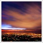 Lebanon coastal sky