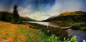 Summit Lake Panoramic