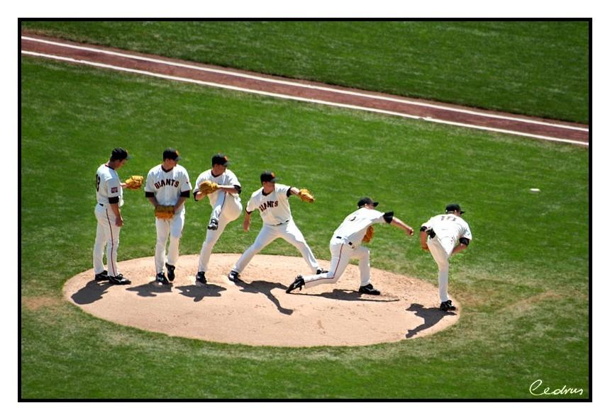 Baseball pitcher by cedrus