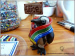 Clive the African Penguin