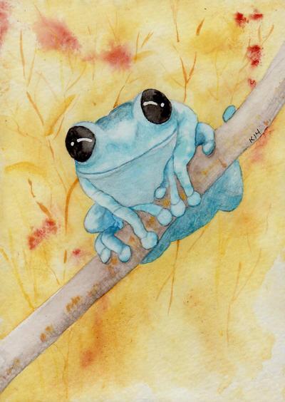 Little Blue by Jiuhl