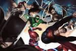 Justice League - Alex Ross Tribute