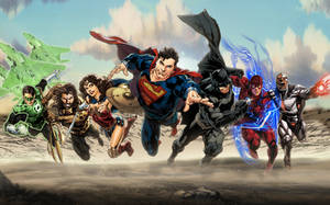 Justice League (DCEU) by zg01man