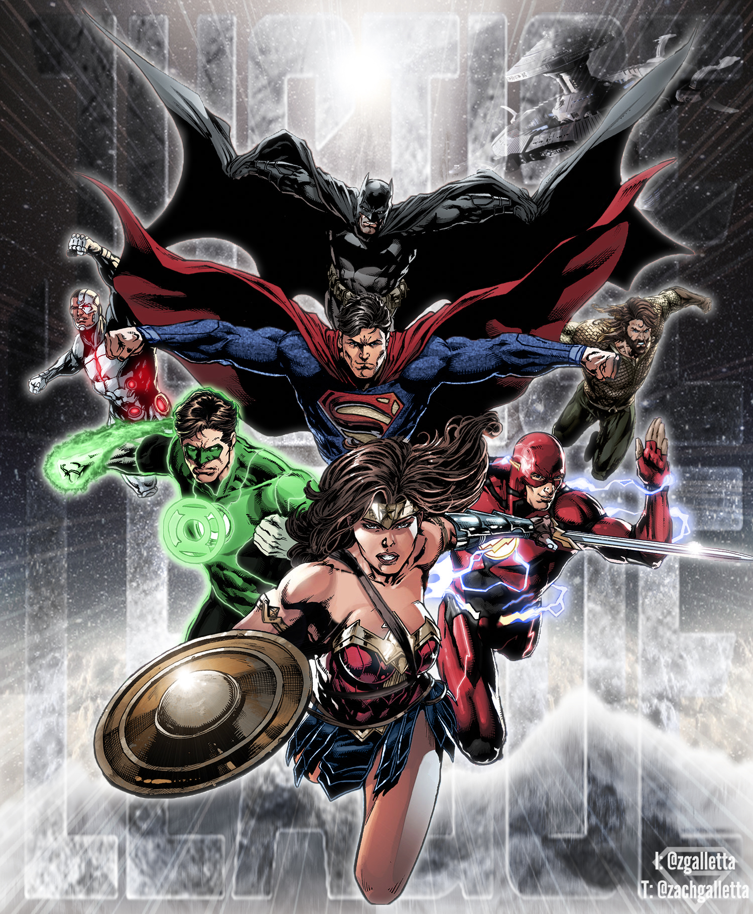 Justice League - DC Extended Universe by zg01man