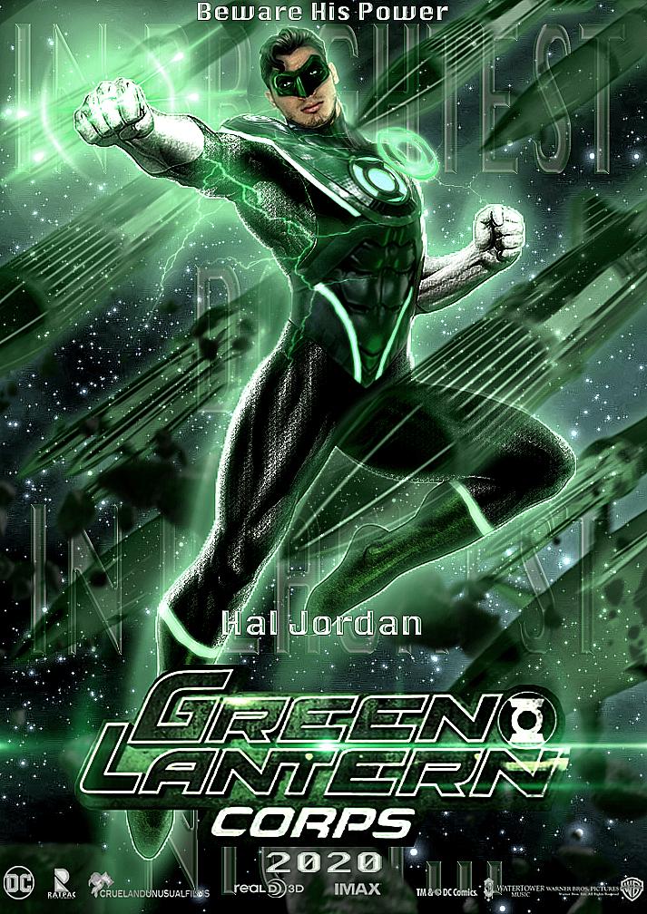 Green Lantern - DCEU by zg01man