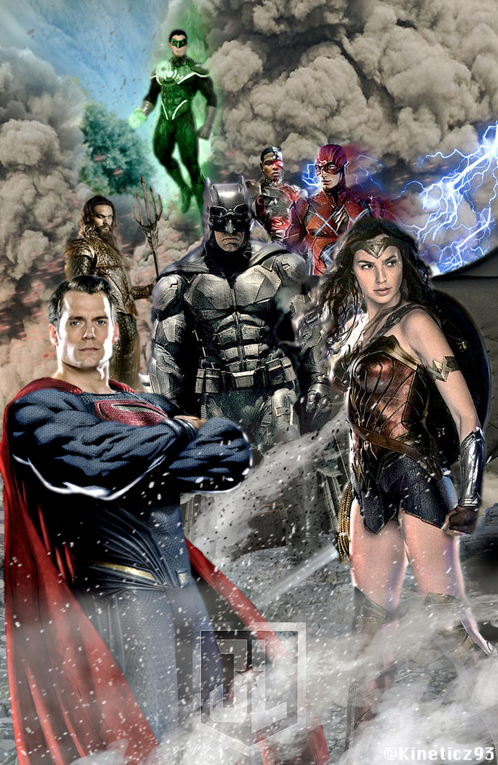 Justice League by zg01man